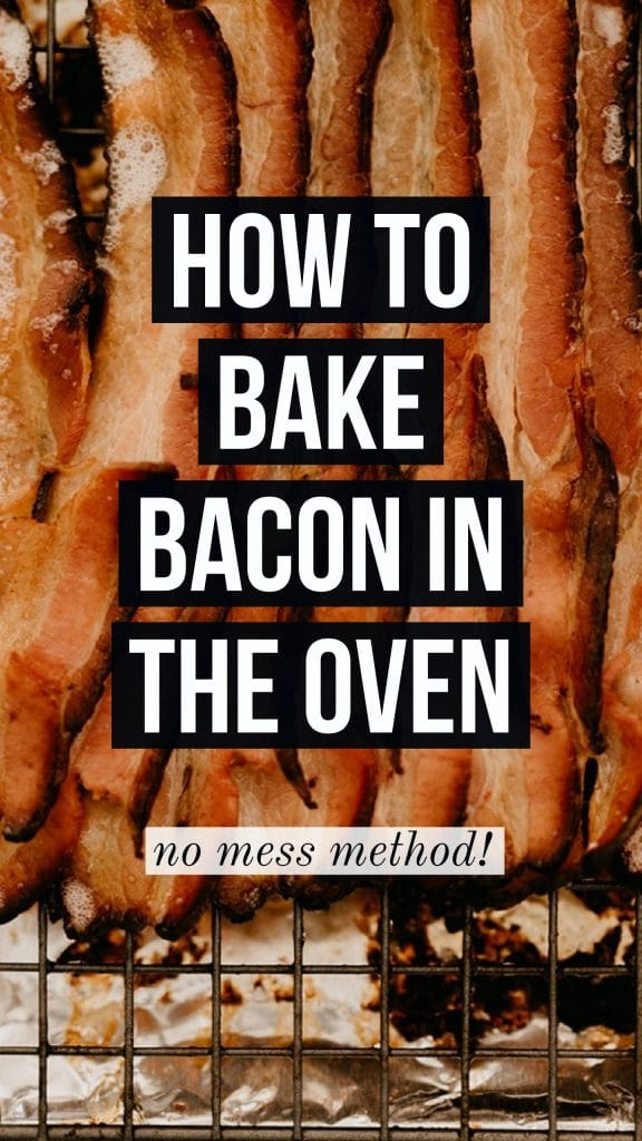 bake bacon in the oven no mess