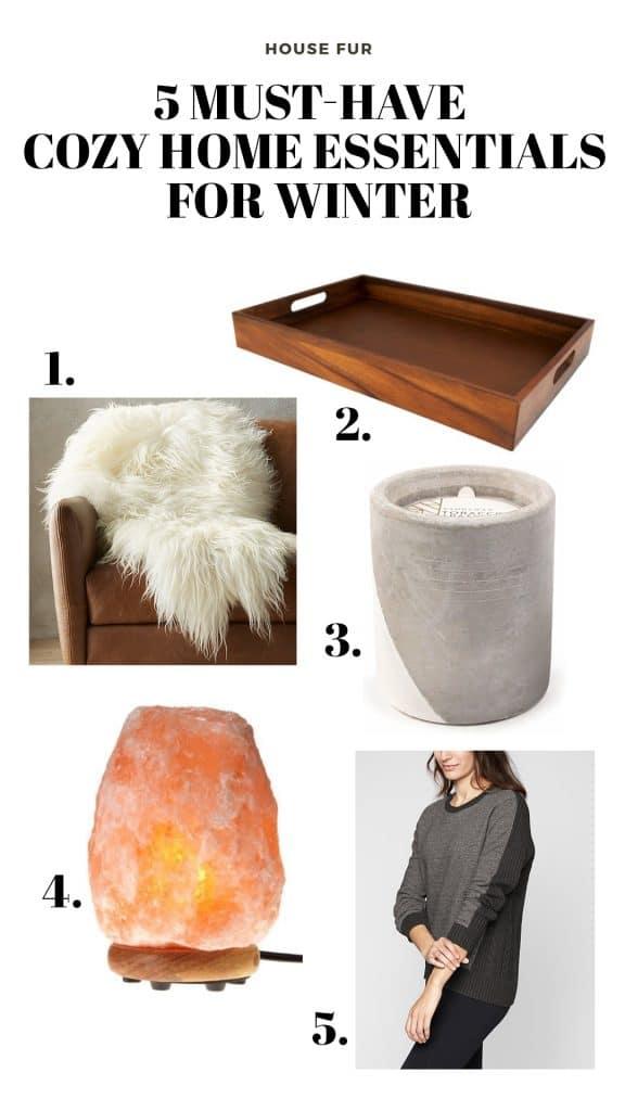 cozy home essentials for winter