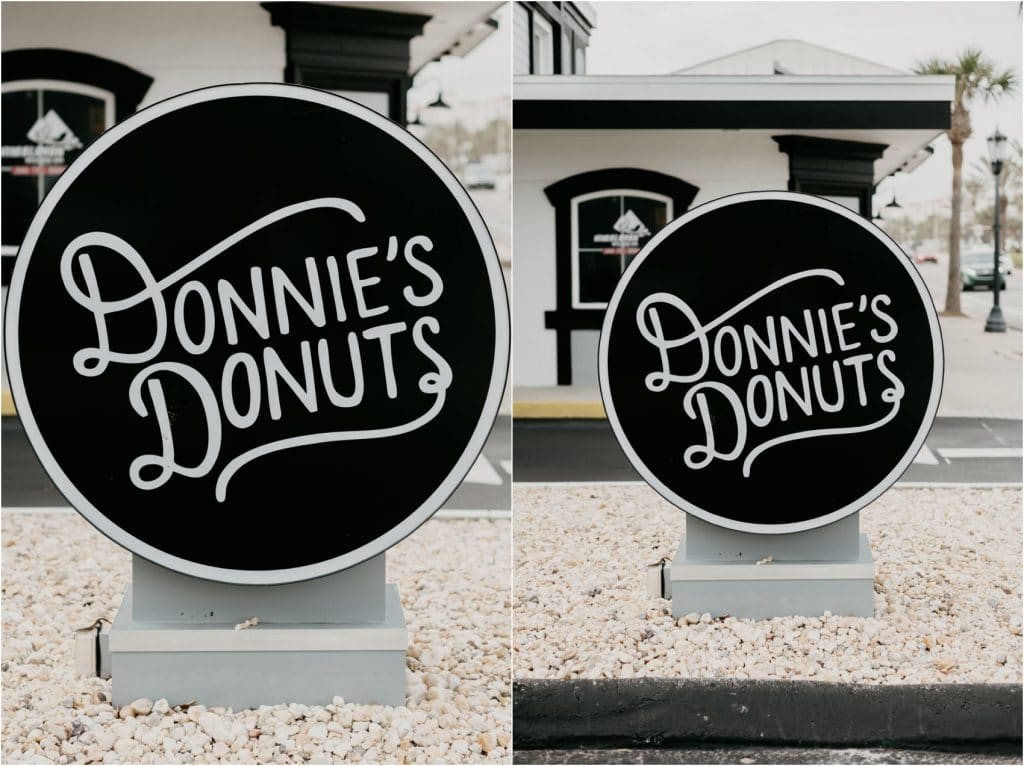 donnie's donuts in Daytona Beach, Florida