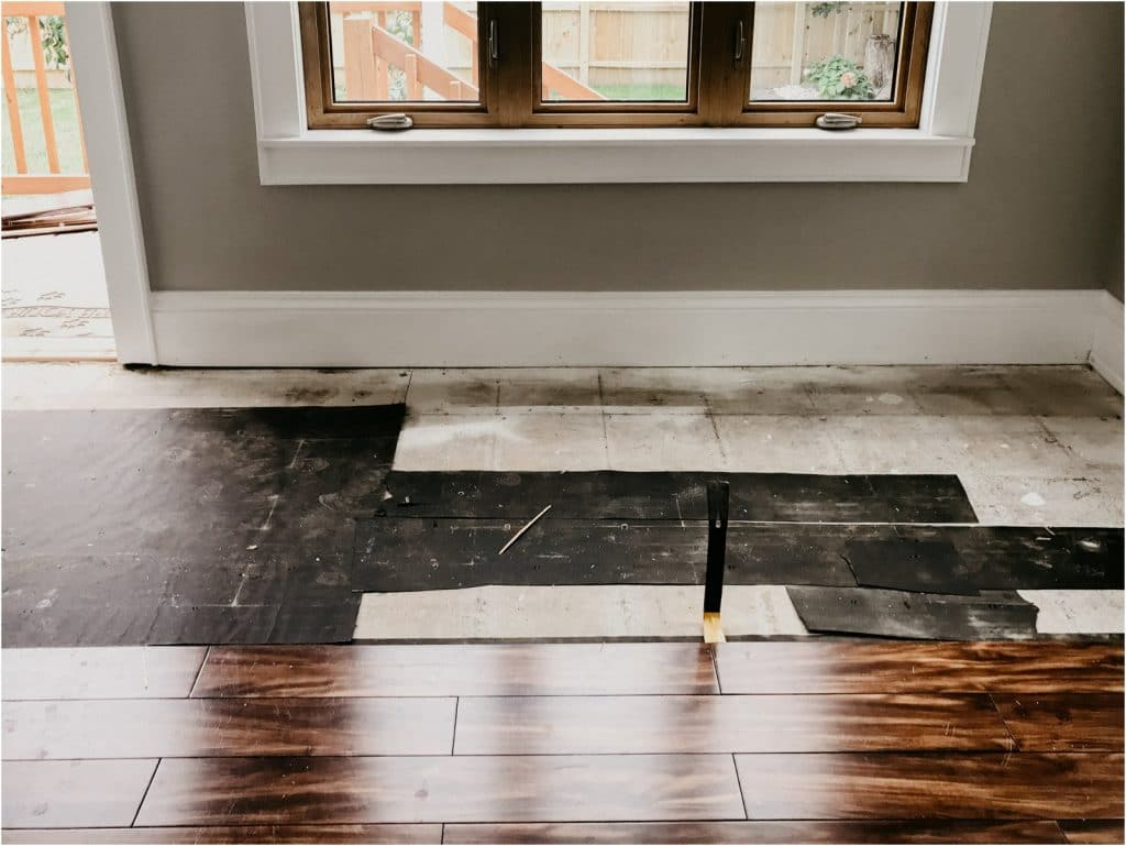 Diy Sunporch Refresh How Tile Can Dramatically Change A Room