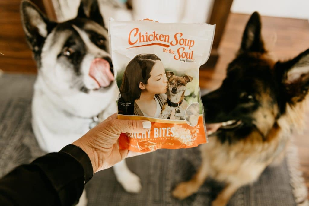 chicken soup pets