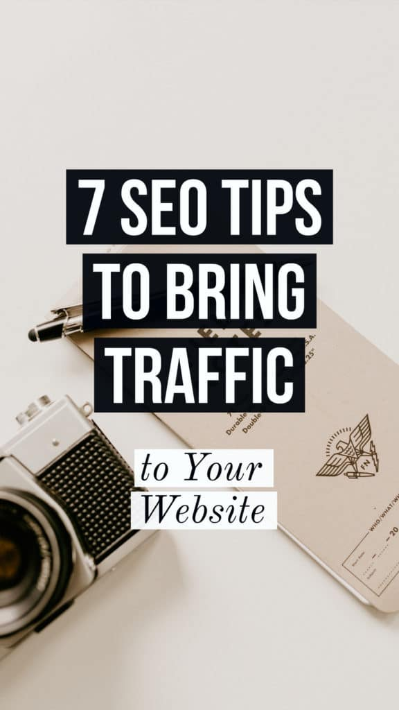 grow traffic to your website with SEO