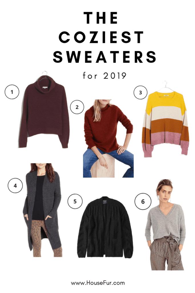 coziest madewell sweaters 2019 winter