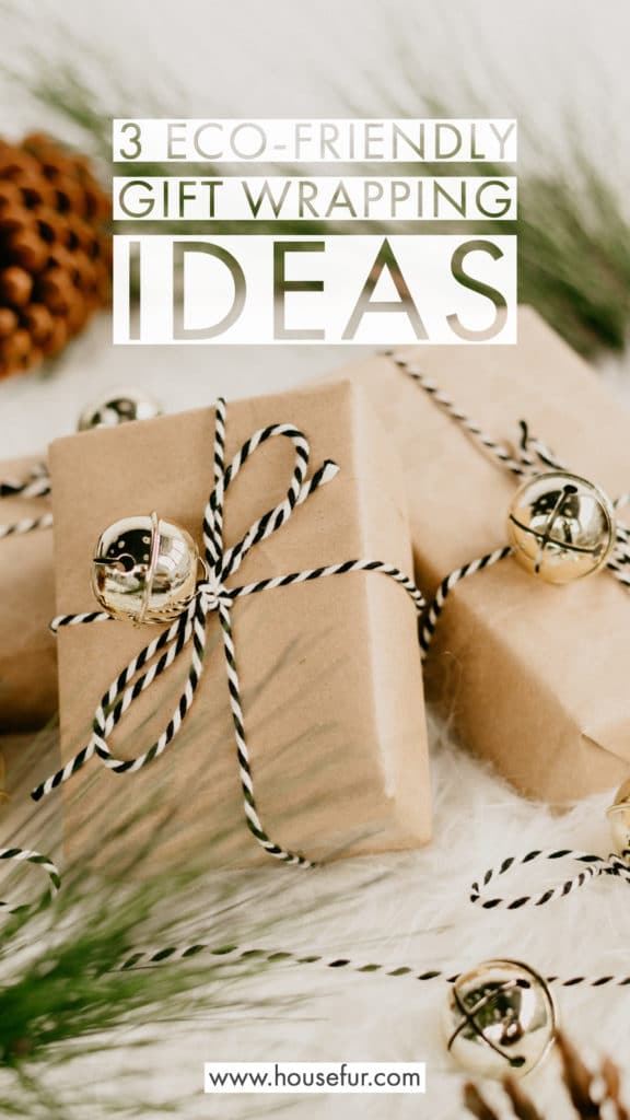 eco-friendly holiday gift wrapping