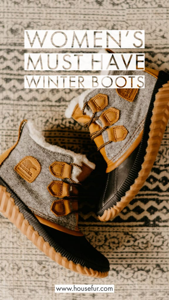 womens must have winter boots Sorel Ugg Sperry