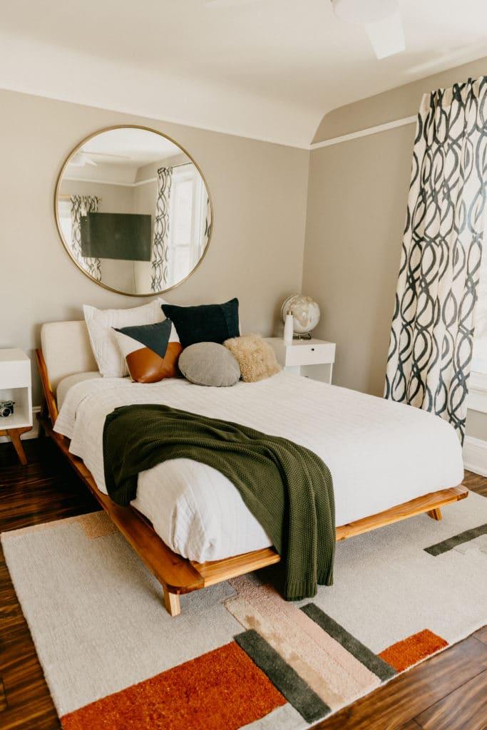 west elm master bedroom