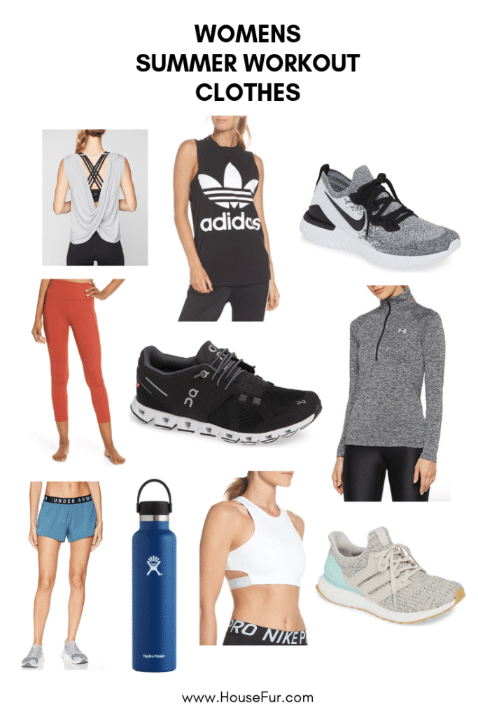 women's favorite workout clothes for summer 2019