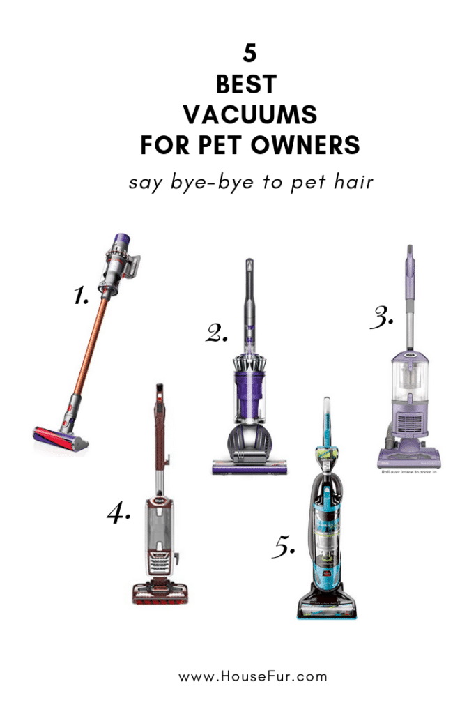 the 5 best vacuums for pet hair