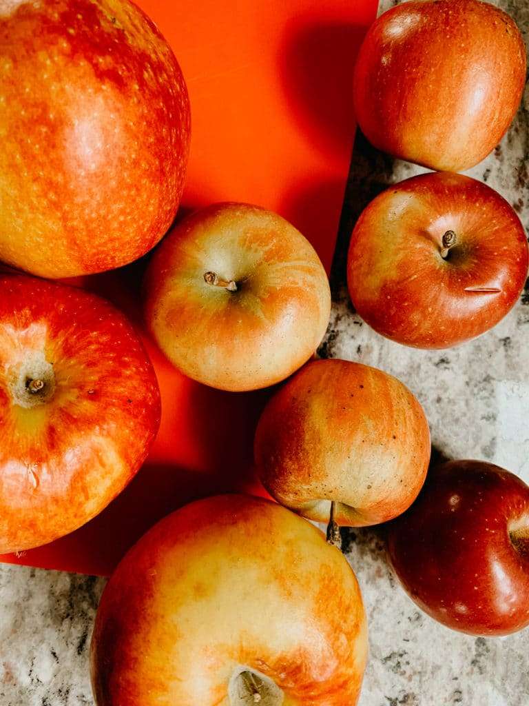 apples from my imperfect produce delivery box