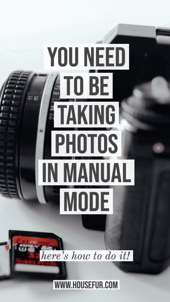 how to take photos in manual mode