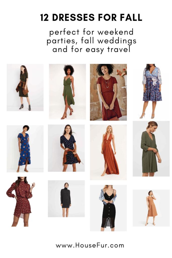 12 Dresses for fall