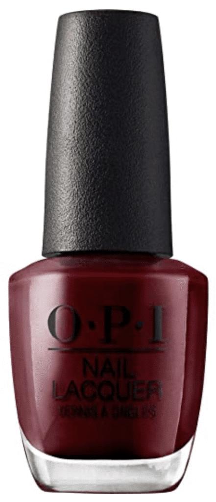 Mia Wallace red nail polish