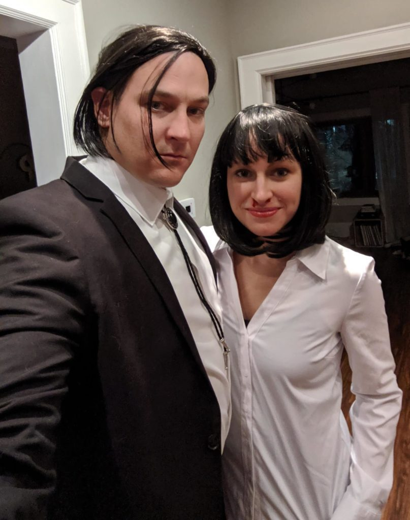 Pulp Fiction My Mia Wallace Costume House Fur