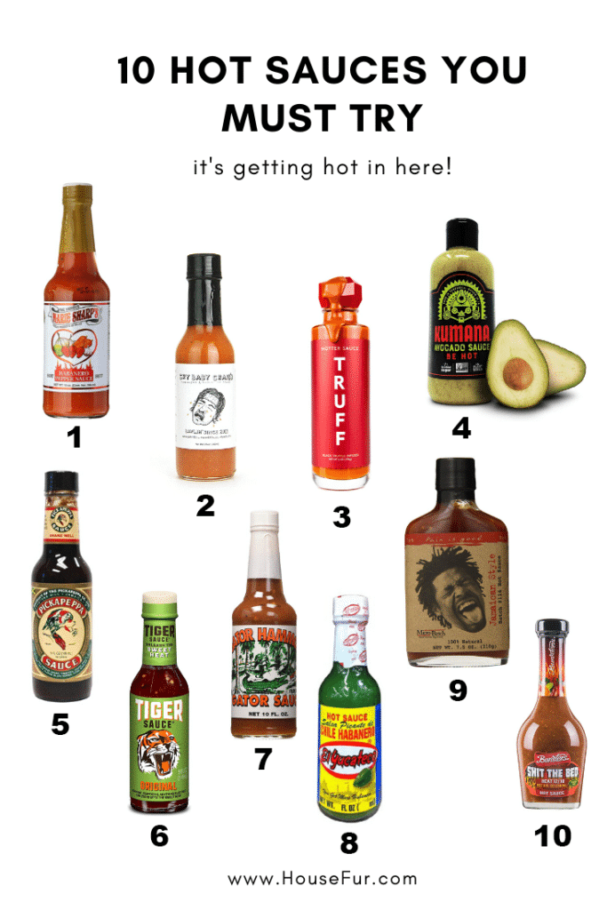 10 hot sauces you must try