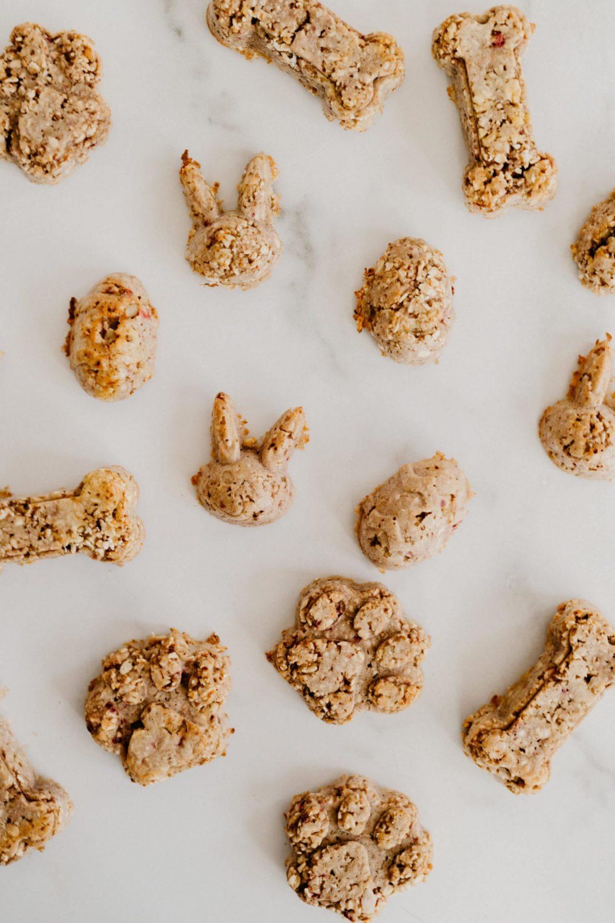 homemade dog treats oatmeal