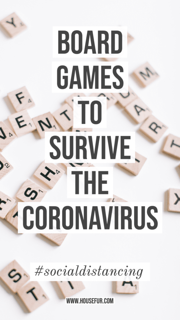 survive the coronavirus social distancing