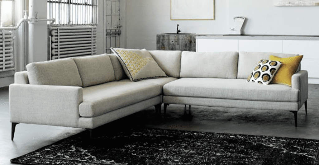 andes west elm couch