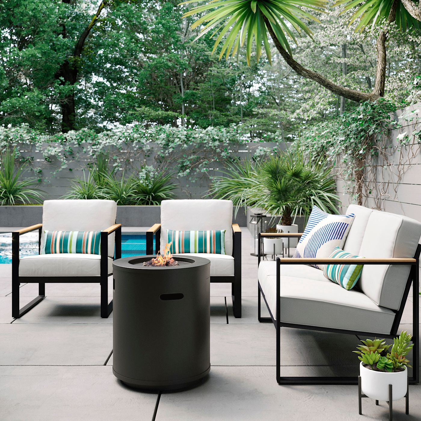 target henning patio furniture