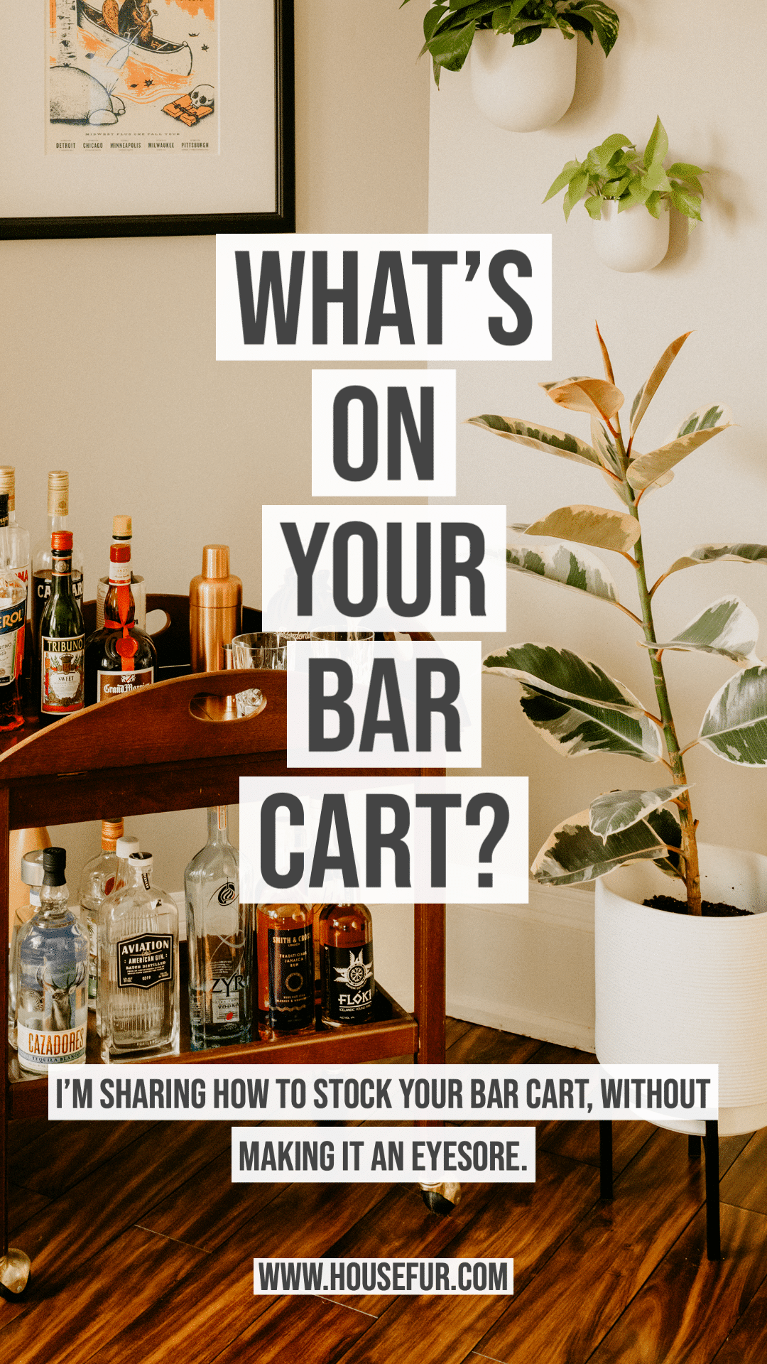 What's On Your Bar Cart?