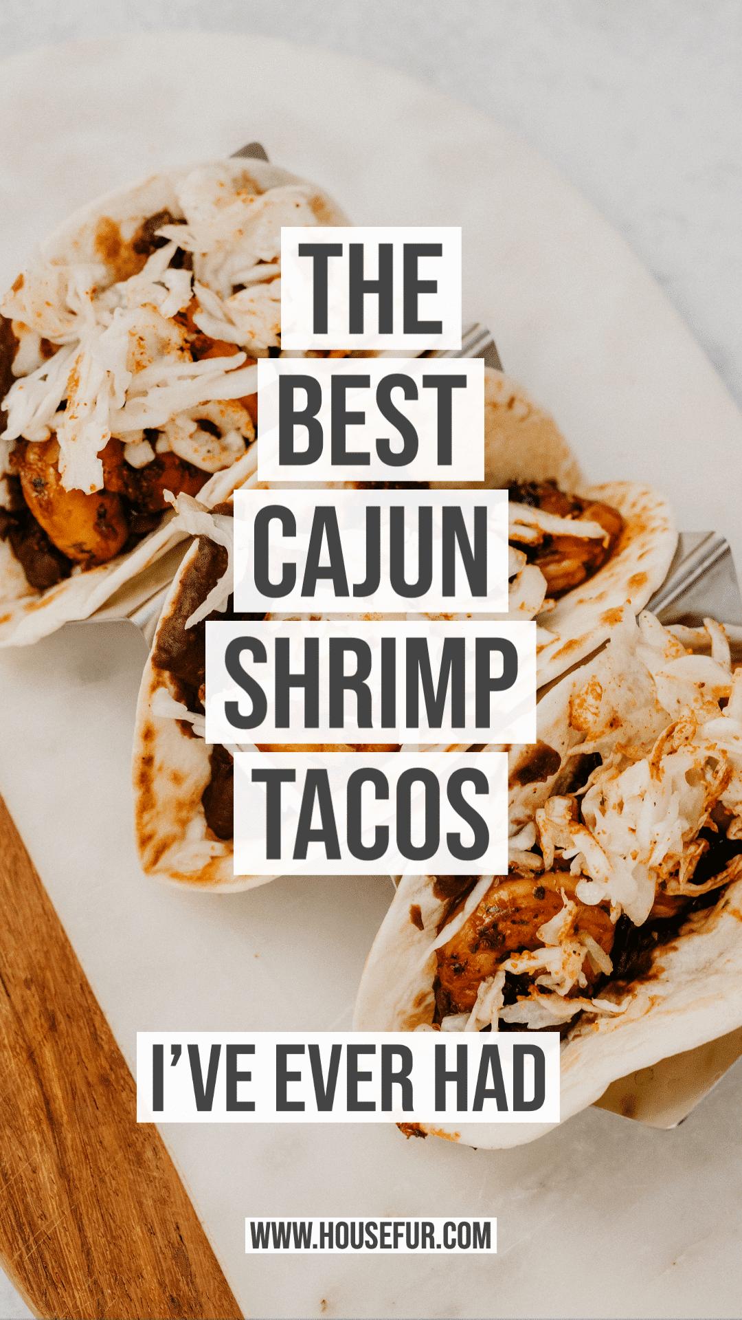 best cajun tacos