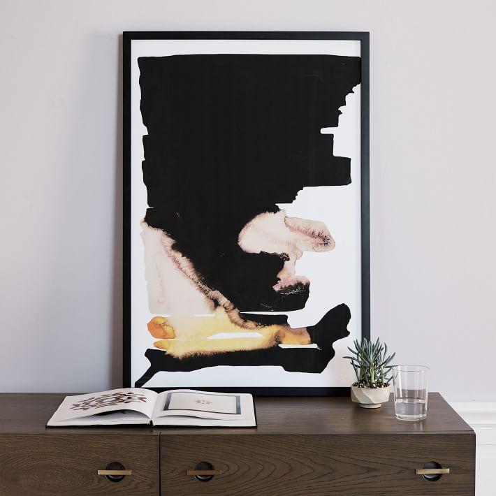 modern framed art west elm