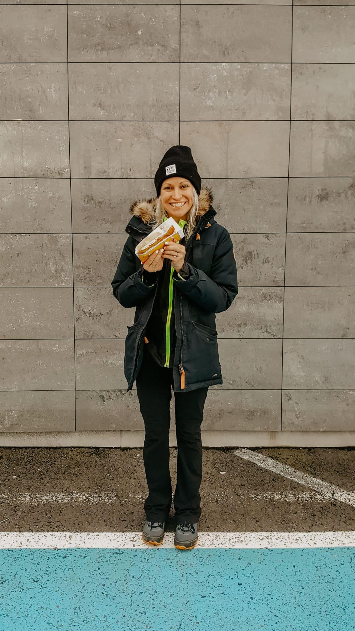 Icelandic hotdog
