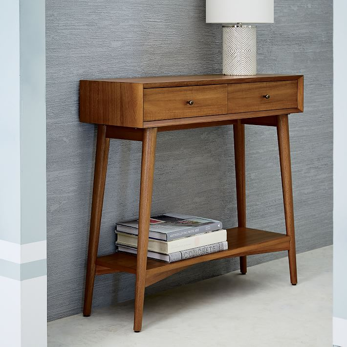 west elm entry table