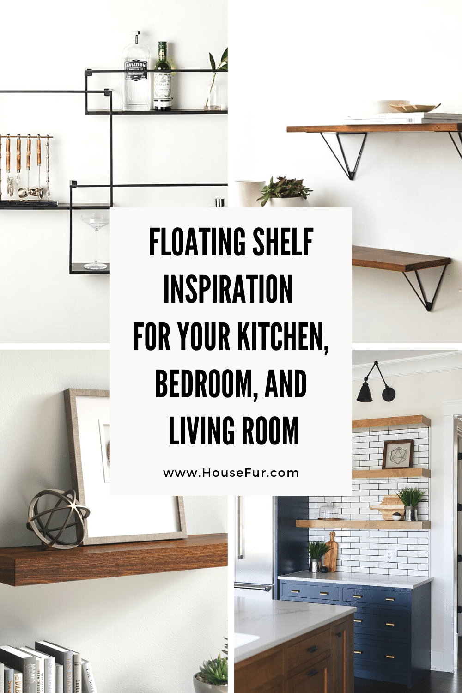 Floating Shelf Inspiration for Your Kitchen, Bedroom, and Living Room