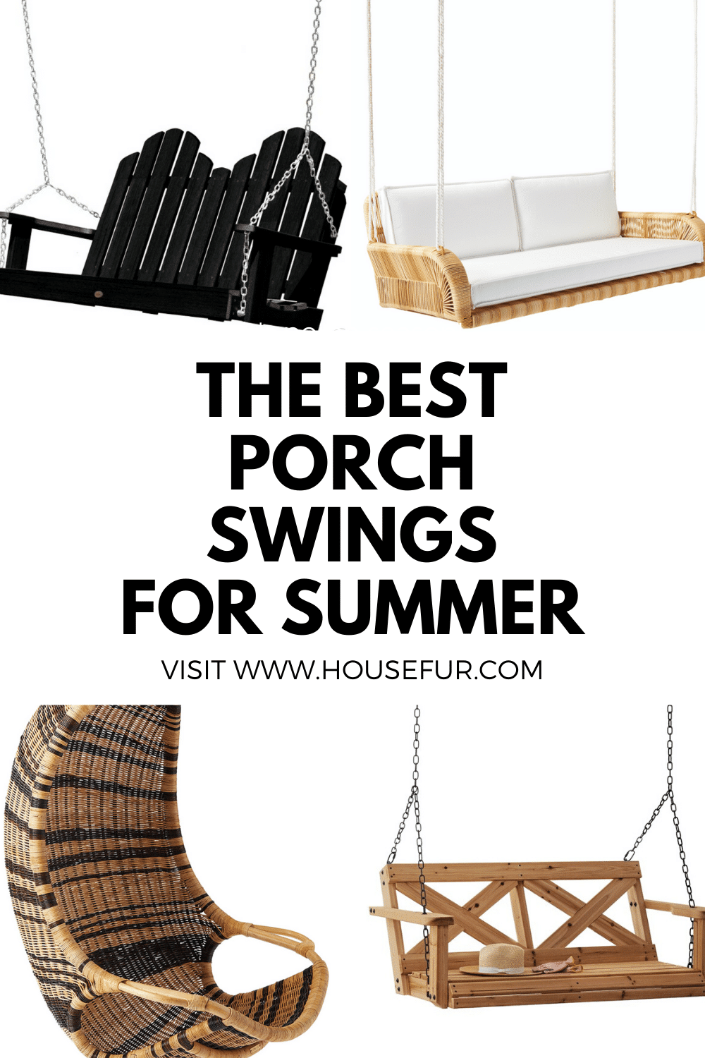 Porch Swings for Summer 2020