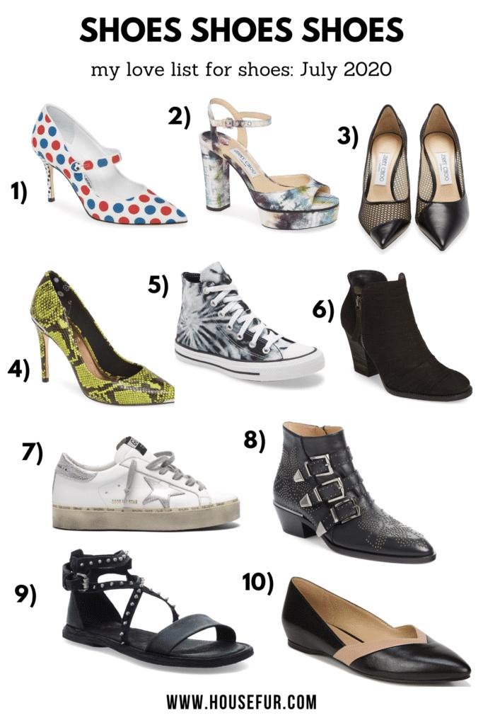 shoes Nordstrom july 2020