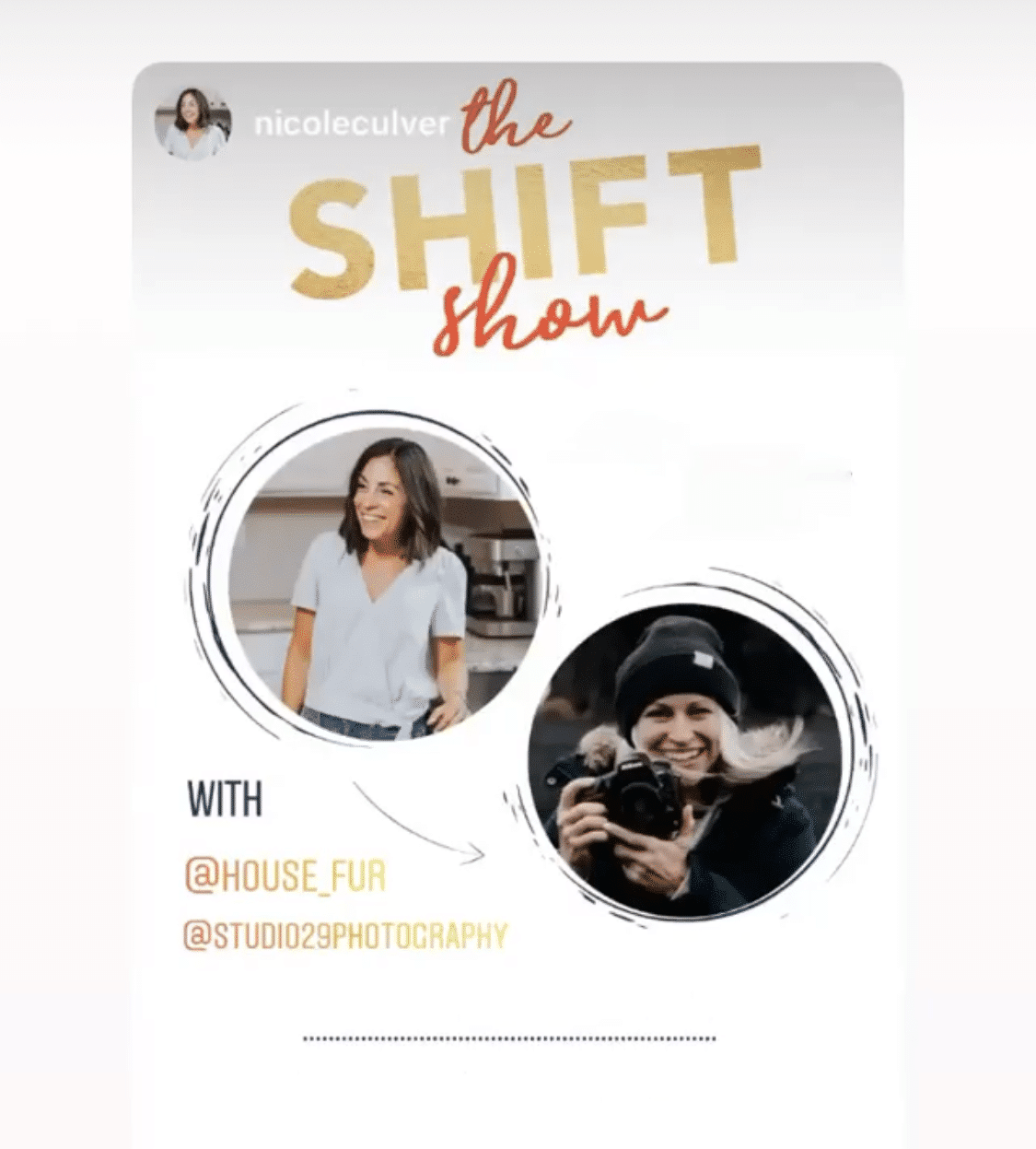 the shift show podcast Nicole Culver