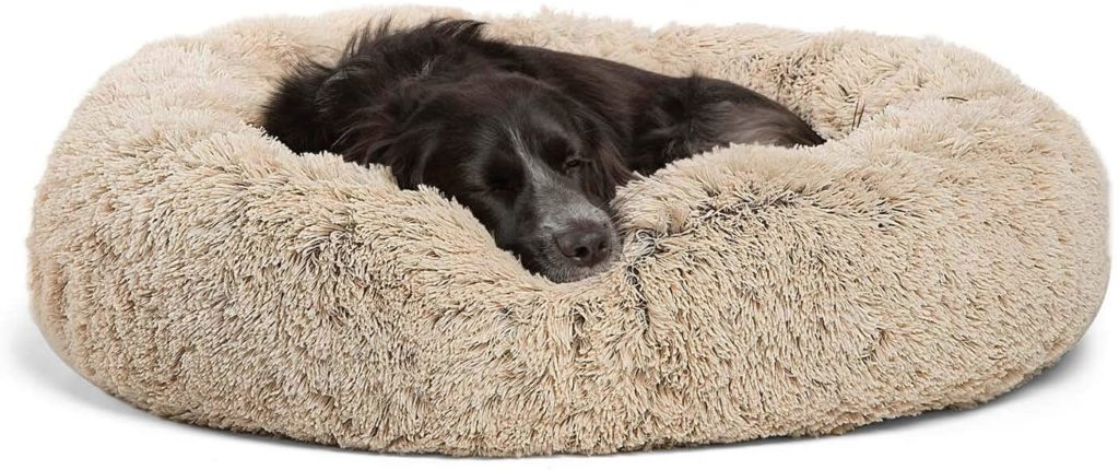 Best Friends by Sheri The Original Calming Shag Vegan Fur Donut Cuddler
