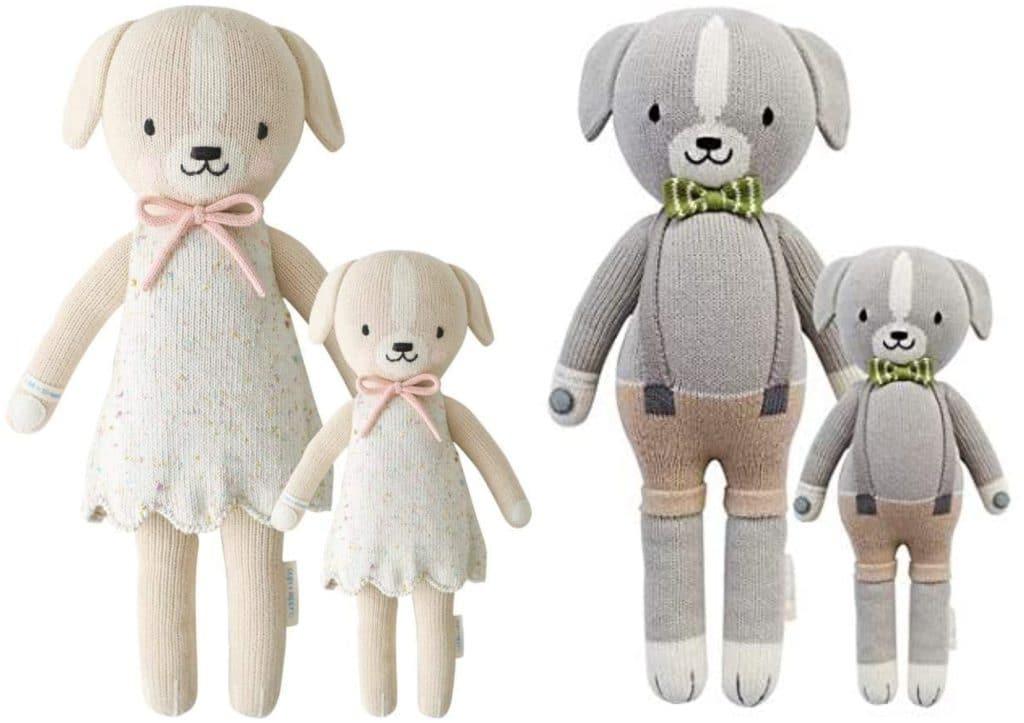 cuddle and kind dog stuffed toys