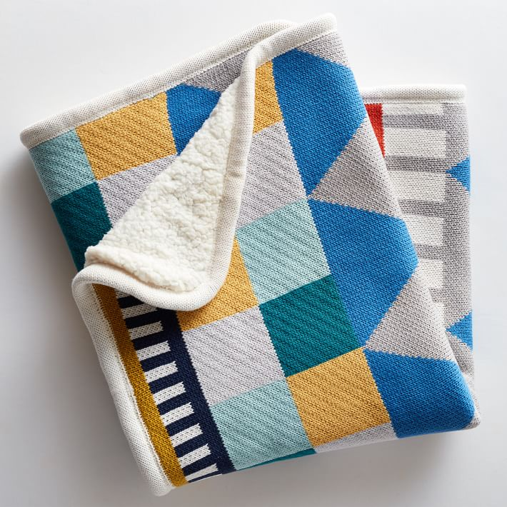 Knit Cotton Baby Blanket