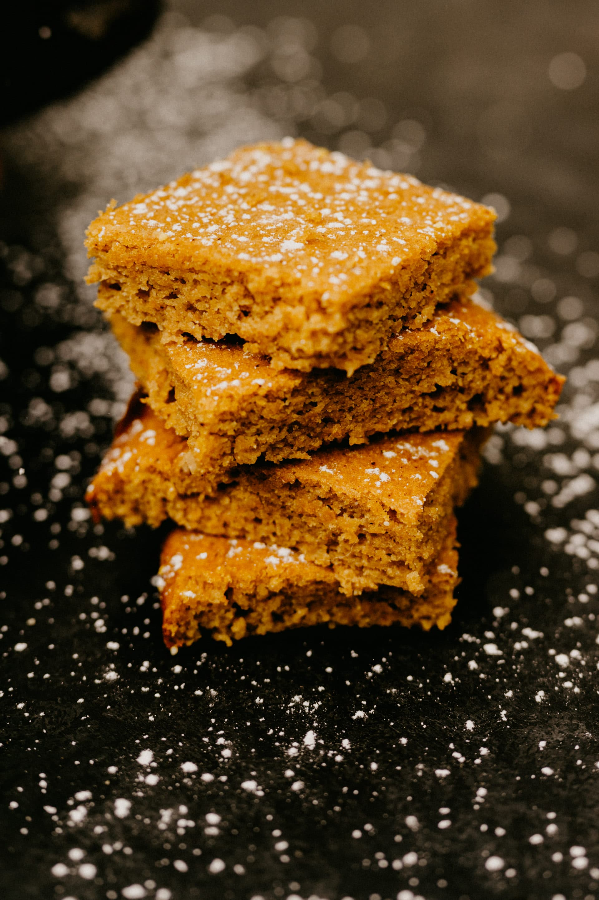 easy moist pumpkin squares