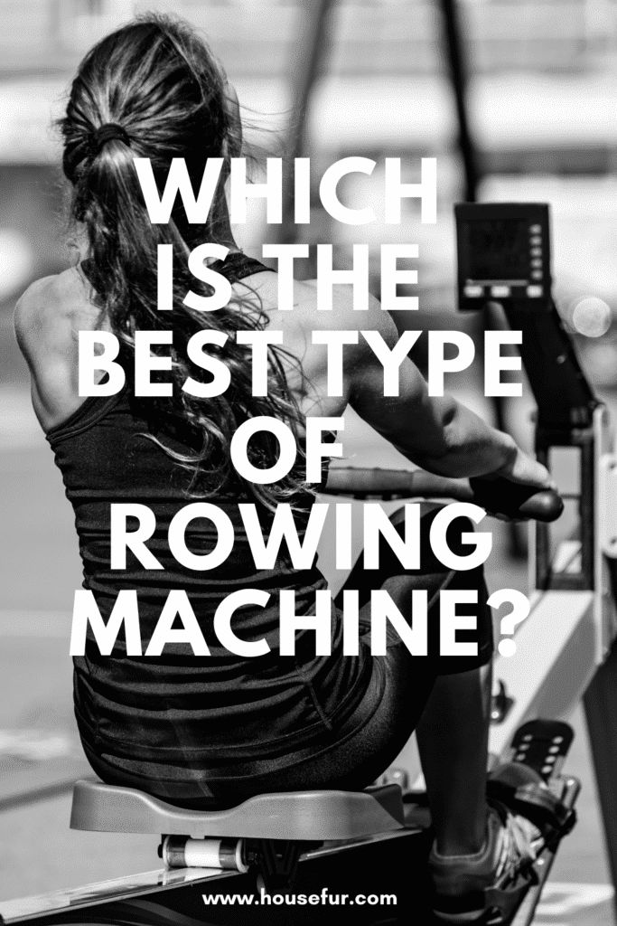 different types of rowing machines