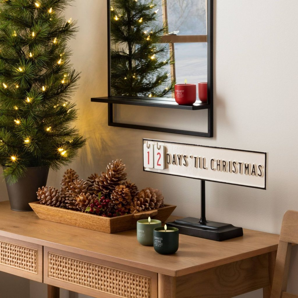 Holiday Advent Calendar with Stand - Hearth & Hand™