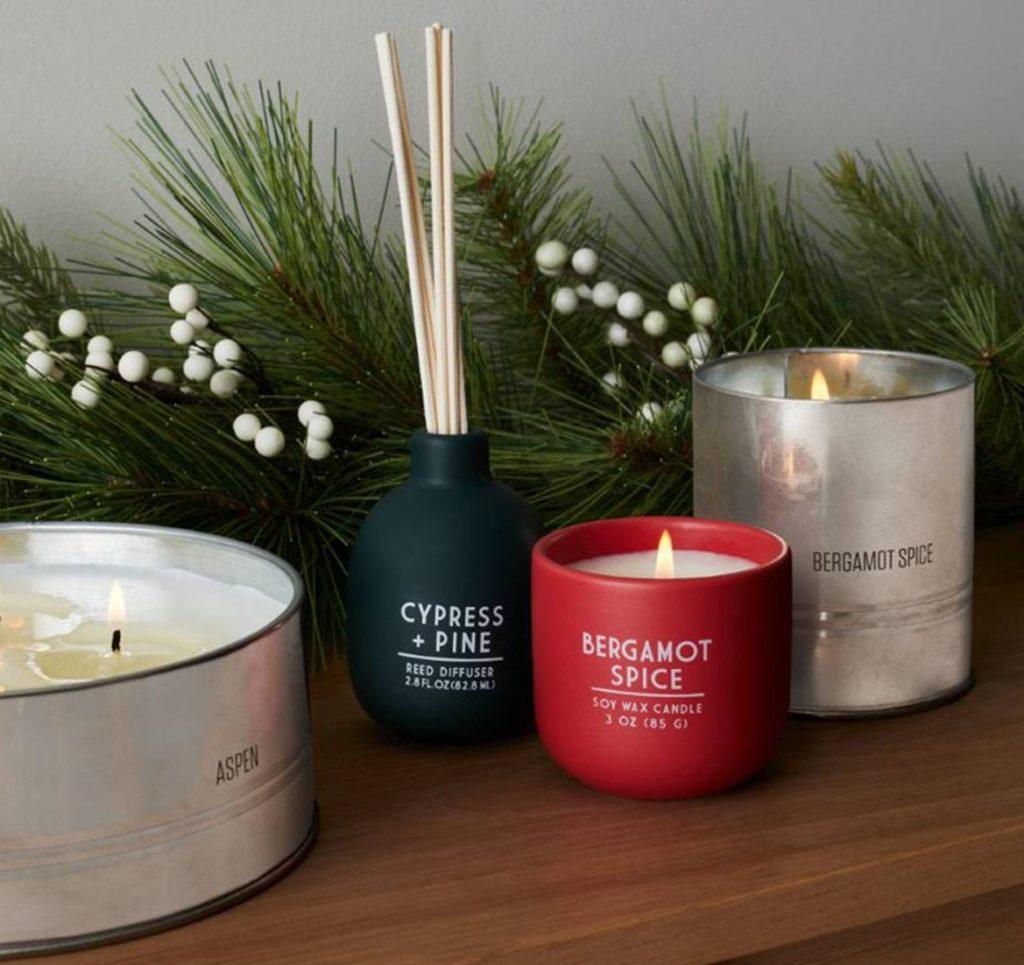 Holiday Ceramic Candle Bergamot Spice