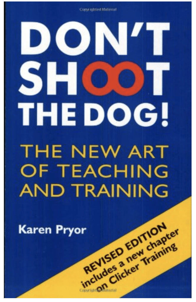 dont shoot the dog book