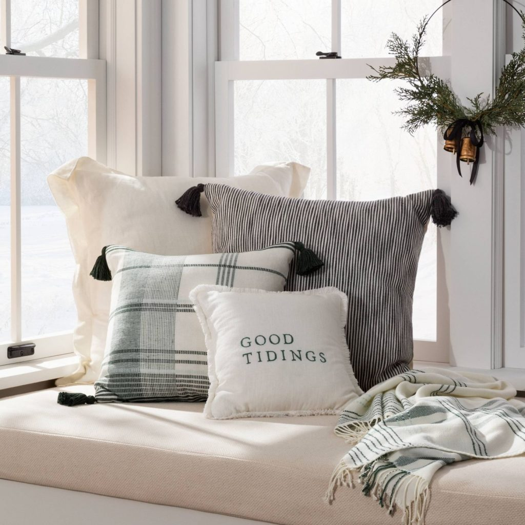 hearth and hand magnolia holiday pillows