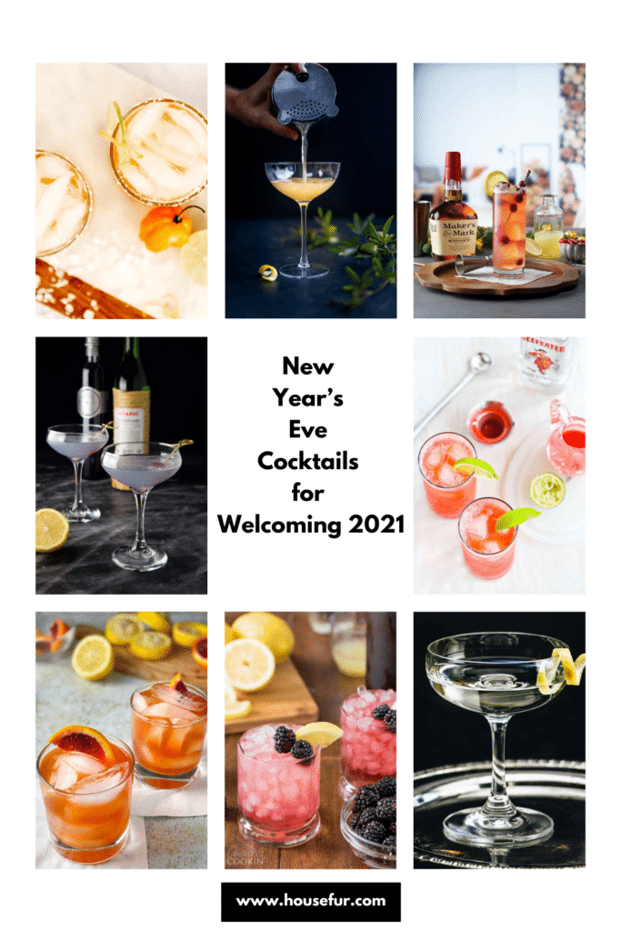 2021 New Years Eve Cocktails