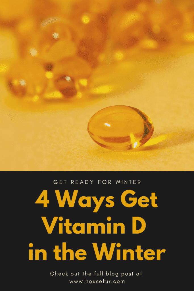 4 Ways Get Vitamin D in the Winter