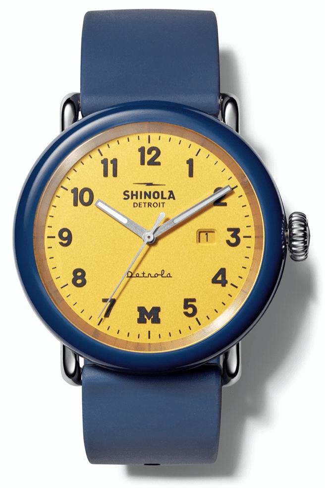 Detrola The Wolverine Silicone Strap Watch, 43mm
