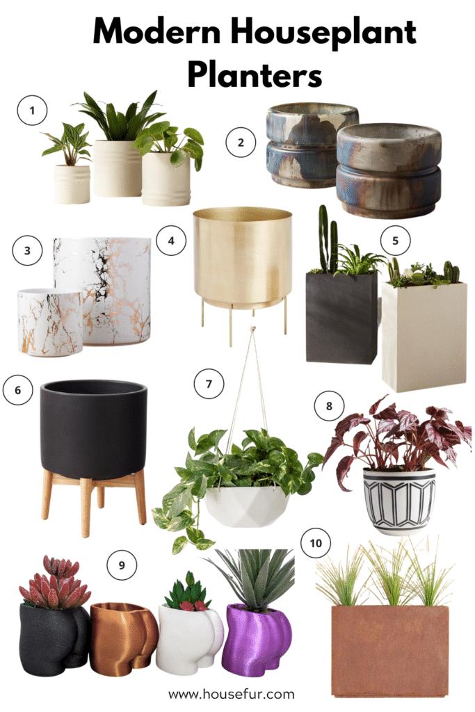 houseplant planters