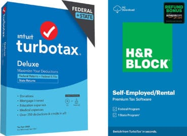 turbo tax and hr block software