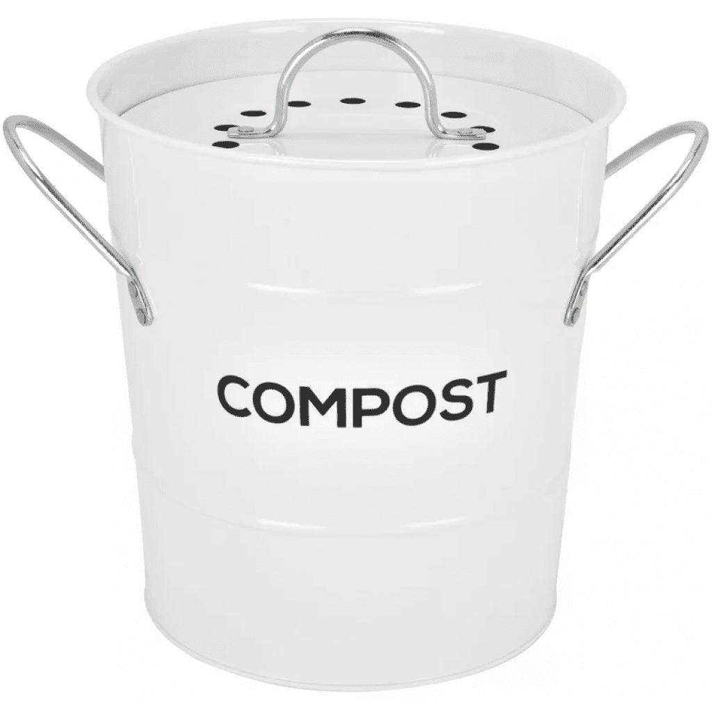 Steel 1 Gal. Kitchen Composter