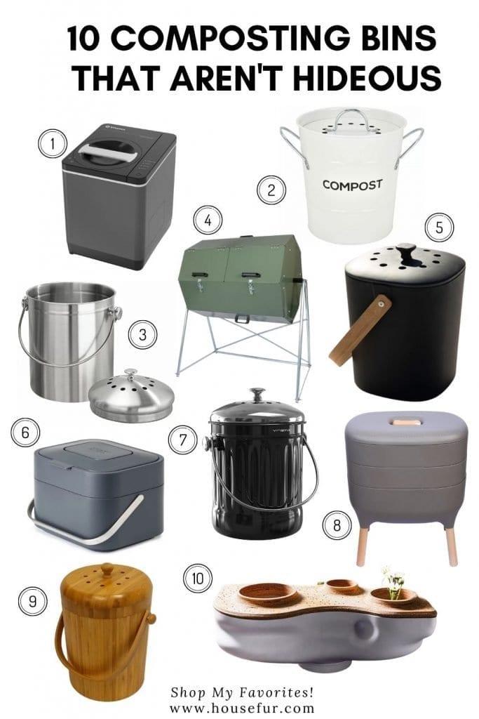 good looking compost bins