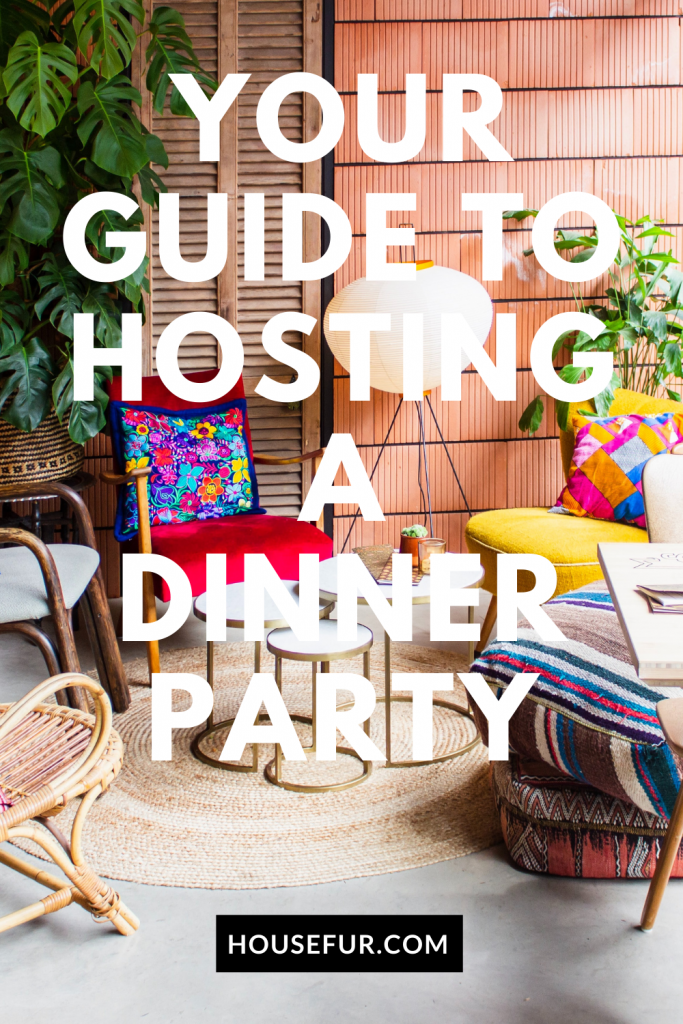 Your Guide To Hosting A Dinner Party