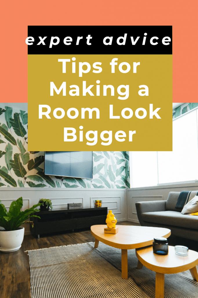room look bigger design tips