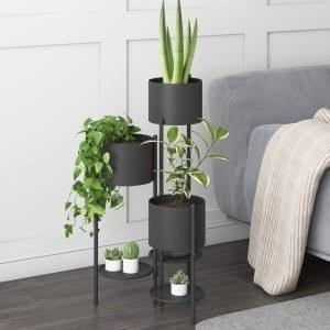 6 tier metal plant stand